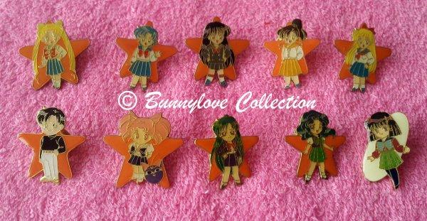 Sailor Moon S Pins