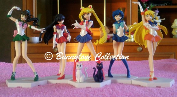 HGIF Sailor Moon Figure collection