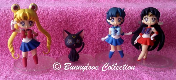 Banpresto Sailor Moon Prize Figure girls memories