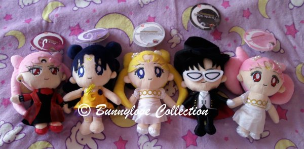 Sailor Moon 20th Anniversary Plush - Set III