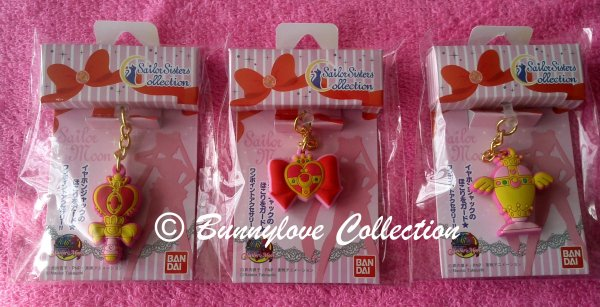 Bandai - Sailor Moon 20th Anniversary - Charm Charapin Set III