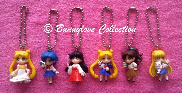 Bandai - Sailor Moon Keychain Set IV