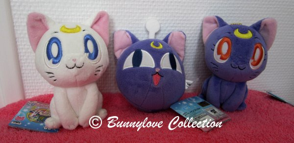 Banpresto Cats Plushies