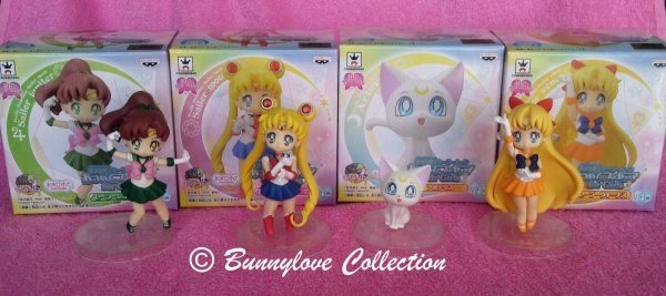 Banpresto Sailor Moon Girls Memories Set II