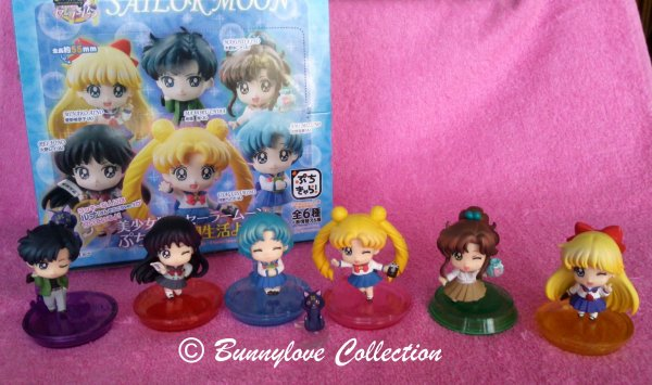 Megahouse - Puchi Chara Sailor Moon - Set III B