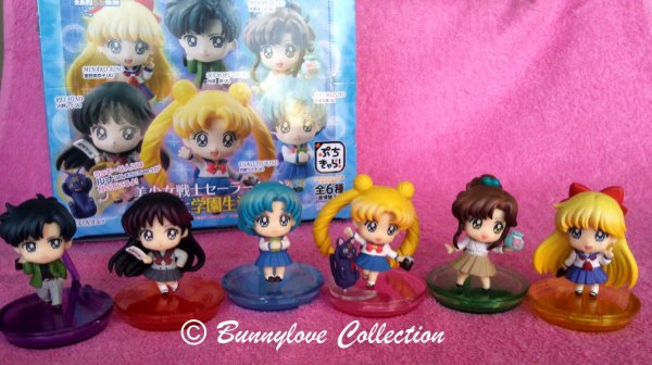 Mehaghouse Sailor Moon Puchi Chara Set III A