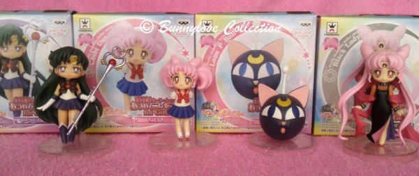 Sailor Moon Atsumete Girls Set III