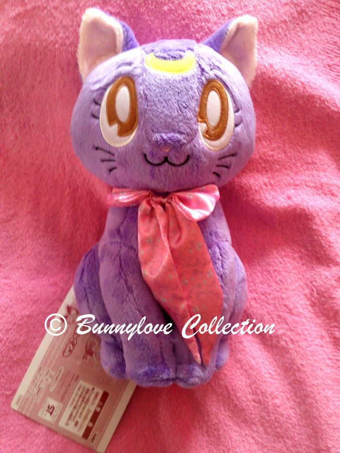 Luna Plush IChiban Kuji Life with Sailor Moon Banpresto