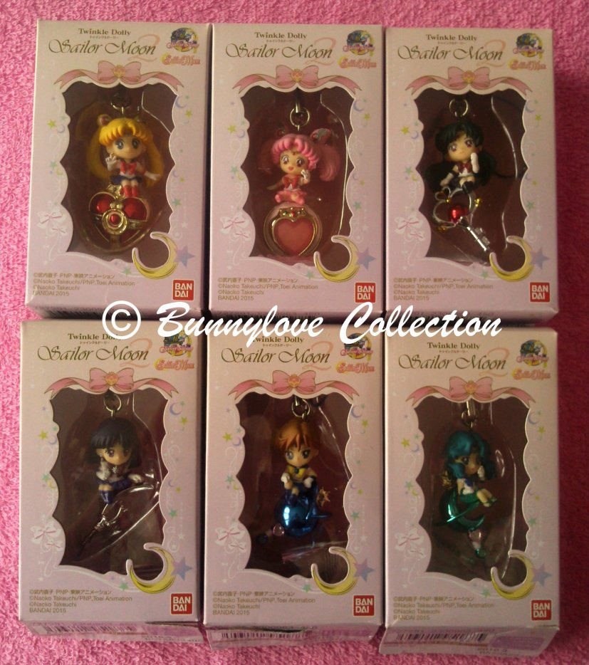Bandai - Sailor Moon 20th Anniversary - Sailor Moon Twinkle Dolly Set 2