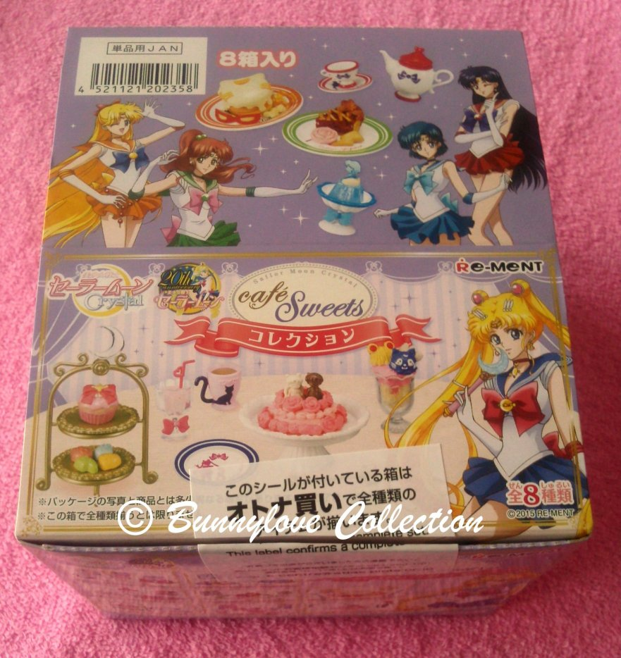 Sailor Moon Re-ment Cafe Sweet Collection