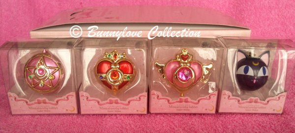 Sailor Moon Miniaturely Tablet Set I