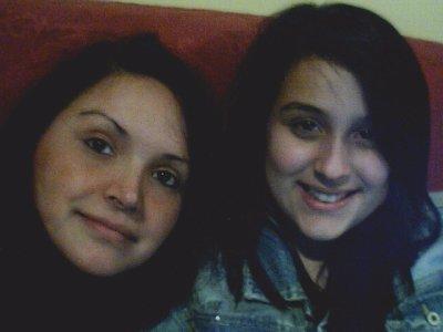 Maria ma fille et moi
