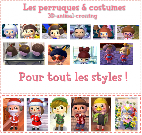 Comment avoir le coiffeur acnl - Coupe animal crossing new leaf ...