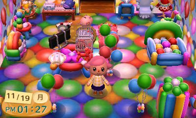 les ballons blog de 3d animal crossing. Black Bedroom Furniture Sets. Home Design Ideas