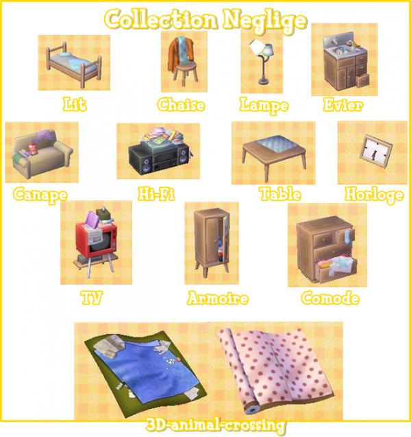 Les collections in dites blog de 3d animal crossing for Meubles japonais acnl