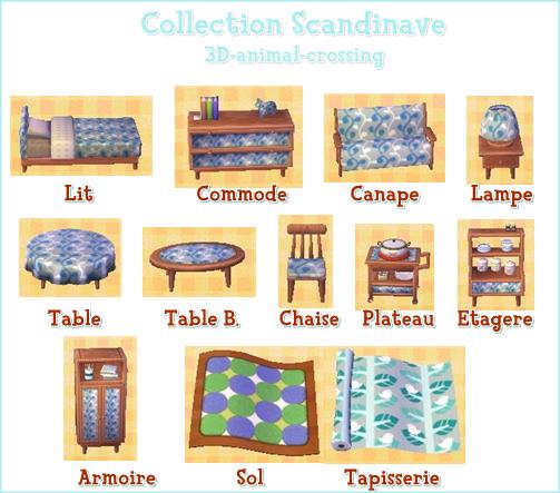 Les collections in dites blog de 3d animal crossing for Liste de meuble pour la maison
