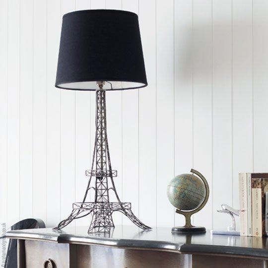 deco lampe tour eiffel source love. Black Bedroom Furniture Sets. Home Design Ideas