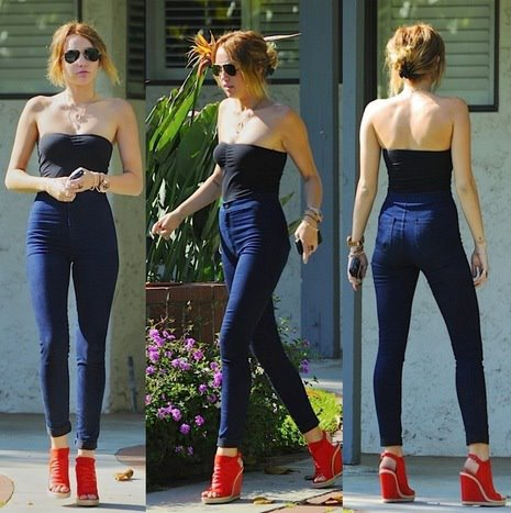 Slim Taille Haute Zara Avec le Slim Taille Haute