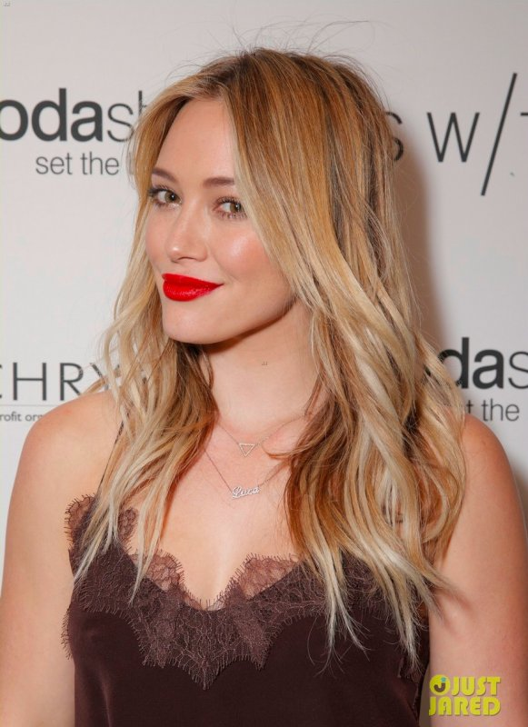 Hilary Duff � un �v�nement. Los Angeles