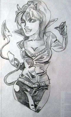 Blog de authentik mik tattoo blog de authentik mik tattoo - Dessin diablesse ...