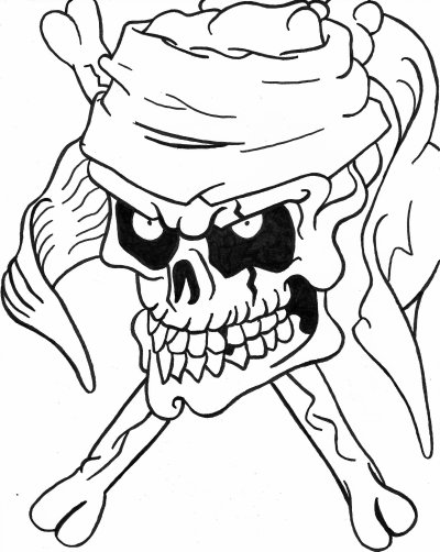 Dessin pirate blog de skull - Dessins pirates ...