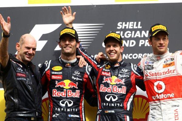 GP de Belgique: Vettel le bon �l�ve