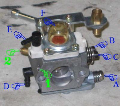 Carburateur walbro tronconneuse bricolage sur enperdresonlapin - Reglage carburateur tronconneuse husqvarna ...