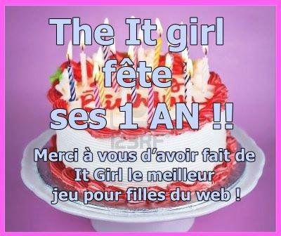 The It girl a un an voici notre histoire !