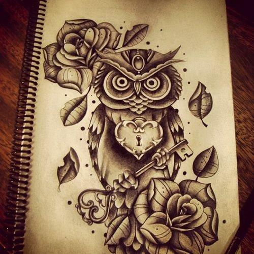 """Articles de TattooDream taggés """"Hiboux"""" - TattooDream ..."""
