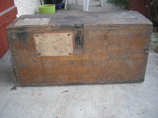 Caisse en bois pour 3 douilles de 15 cm s - Ou trouver des caisse en bois ...