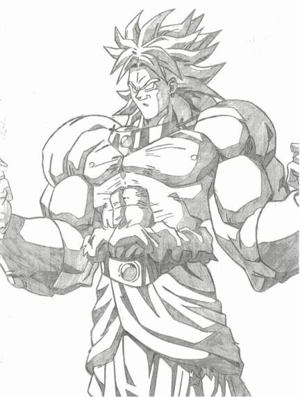 Comment dessiner un super saiyan 5 - Dessin de sangoku ...