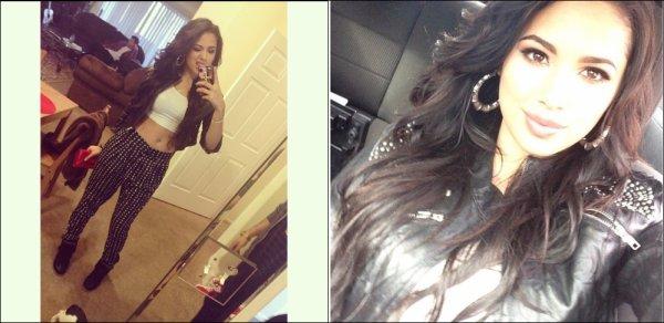 .   Le 23 Novembre, Le matin, Jasmine  s'est fait coiff�e & maquill�e chez elle par Marissa Lauren  .