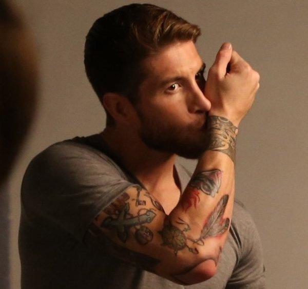 Sergio RamosSergio Ramos Tattoos 2014