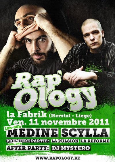 SCYLLA EN CONCERT AVEC MEDINE LE 11 NOVEMBRE 2011 A HERSTAL !!!!