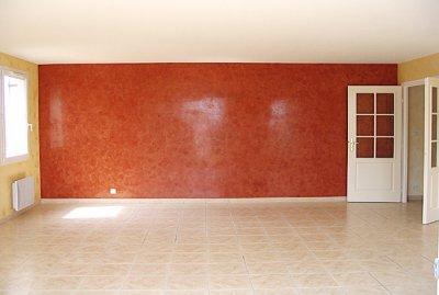 Salon en deux couleure de stuc blog de peinturedecoration - Peinture stucco chambre a coucher ...