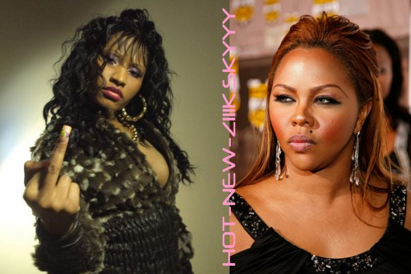 Lil kim and nicki minaj together