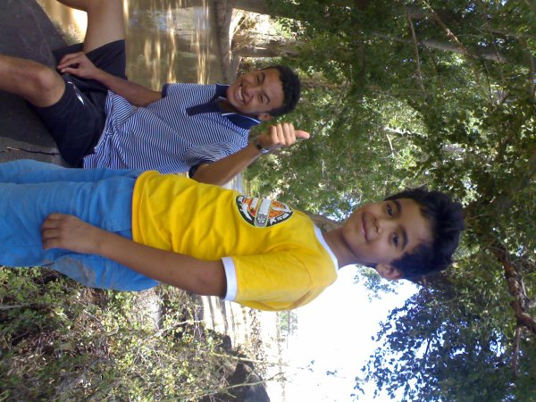 Moi and My cousin