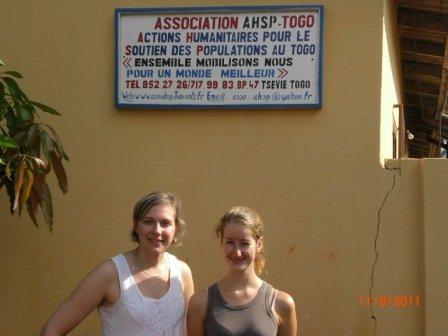 Présentation de l'association A.H.S.P-Togo