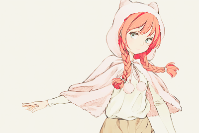 Miyoki, la jeune fille louve. - Personnages de Rpg-manga-meiko