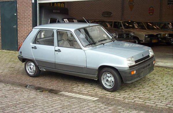 Renault 5 toutes les voitures de l 39 ann e 1982 - Voiture sans permis 5 portes ...