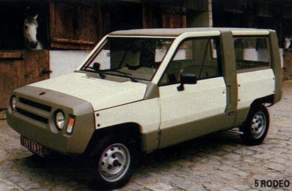 renault rodeo toutes les voitures de l 39 ann e 1982. Black Bedroom Furniture Sets. Home Design Ideas