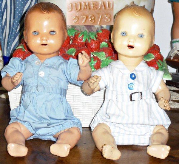 """""""Bambino"""" petit frère de Bleuette Jumeau 278/3 et AM 351/0"""