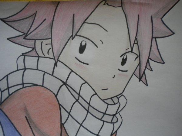 Natsu dragnir fairy tail mes dessins xx - Dessin fairy tail ...