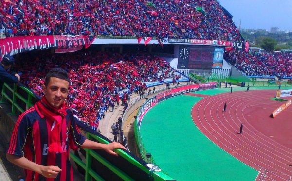 Moi au stade 5 juillet lors de la final 2013