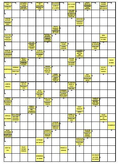 Blog de motscroises720 page 2 blog des mots crois s - Mots croises en ligne grille quotidienne ...