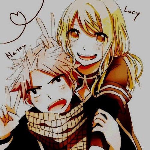 Les couples natsu x lucy fairy tail blog vous salue 8 - Fairy tail lucy et natsu ...