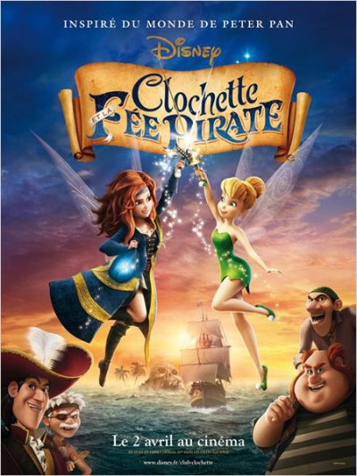 #128 Clochette et la f�e pirate (2014)