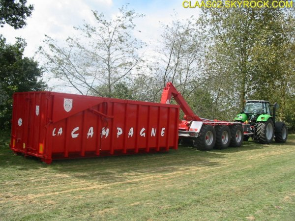 Porte caisson rpc 32 la campagne fg mini agri for Container sur terrain agricole