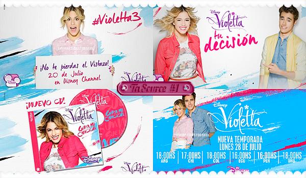 Violetta saison 3 promo ta premi re source - Photo violetta a telecharger ...