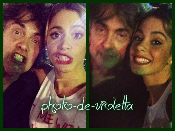 2 photos que tini a post� sur son instagram ya 19 heurs ;)